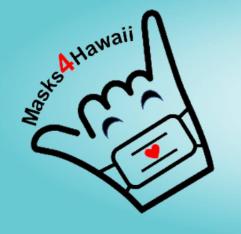 Masks for Hawaii Logo