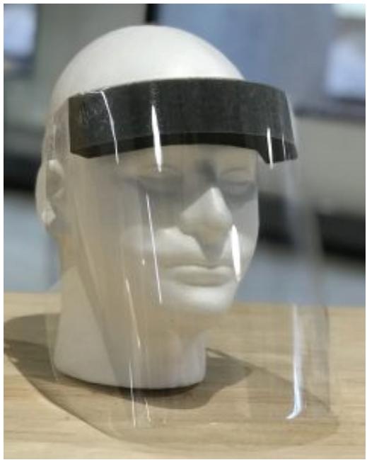University of Wisconsin face shield design