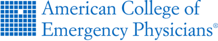 American College of Emergency Physicians logo, Get Us PPE partner