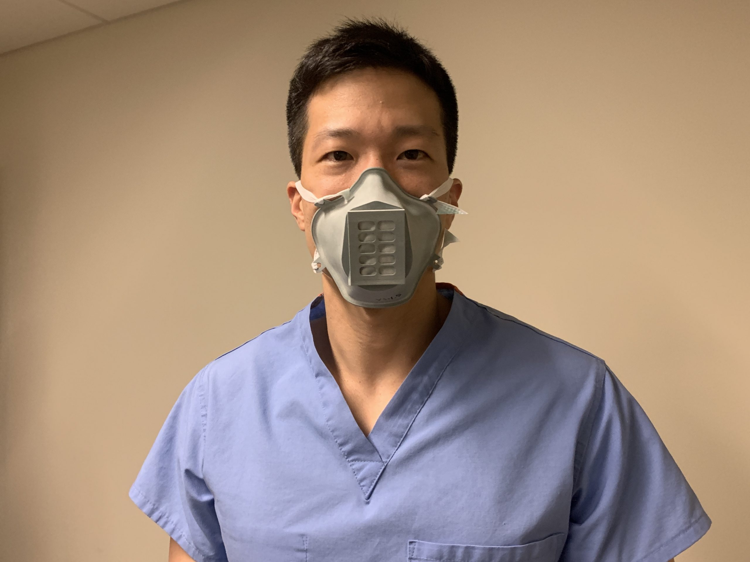 Stopgap Surgical Face Mask design