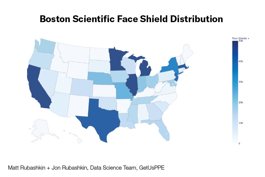 Face Shield Distribution