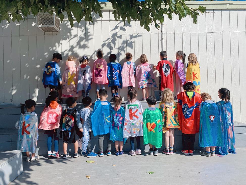 Hancock Park Elementary School Students