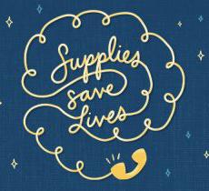 supplies save lives