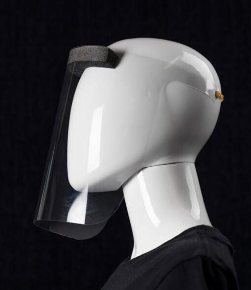 Trestle face shield