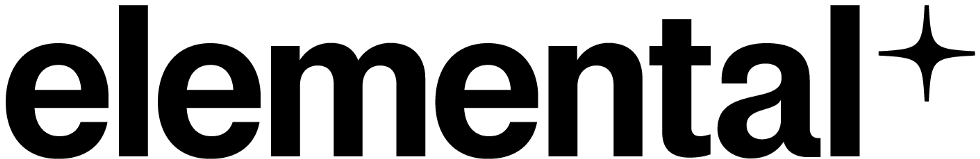Logo for Elemental, Medium's publication on science and wellness