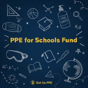 PPE for schools graphic
