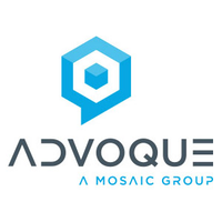 Advoque logo, Get Us PPE partner