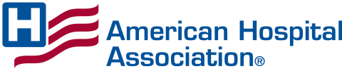 American Hospital Association logo, Get Us PPE partner