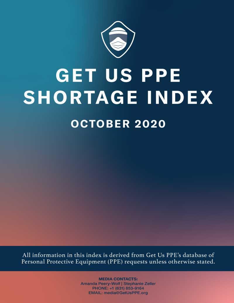 Consíguenos Índice de escasez de PPE Octubre de 2020 Portada en PDF