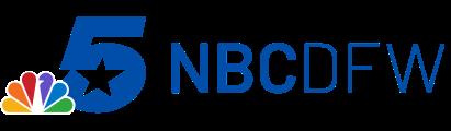 Logo for NBC in the Dallas-Fort Worth area.