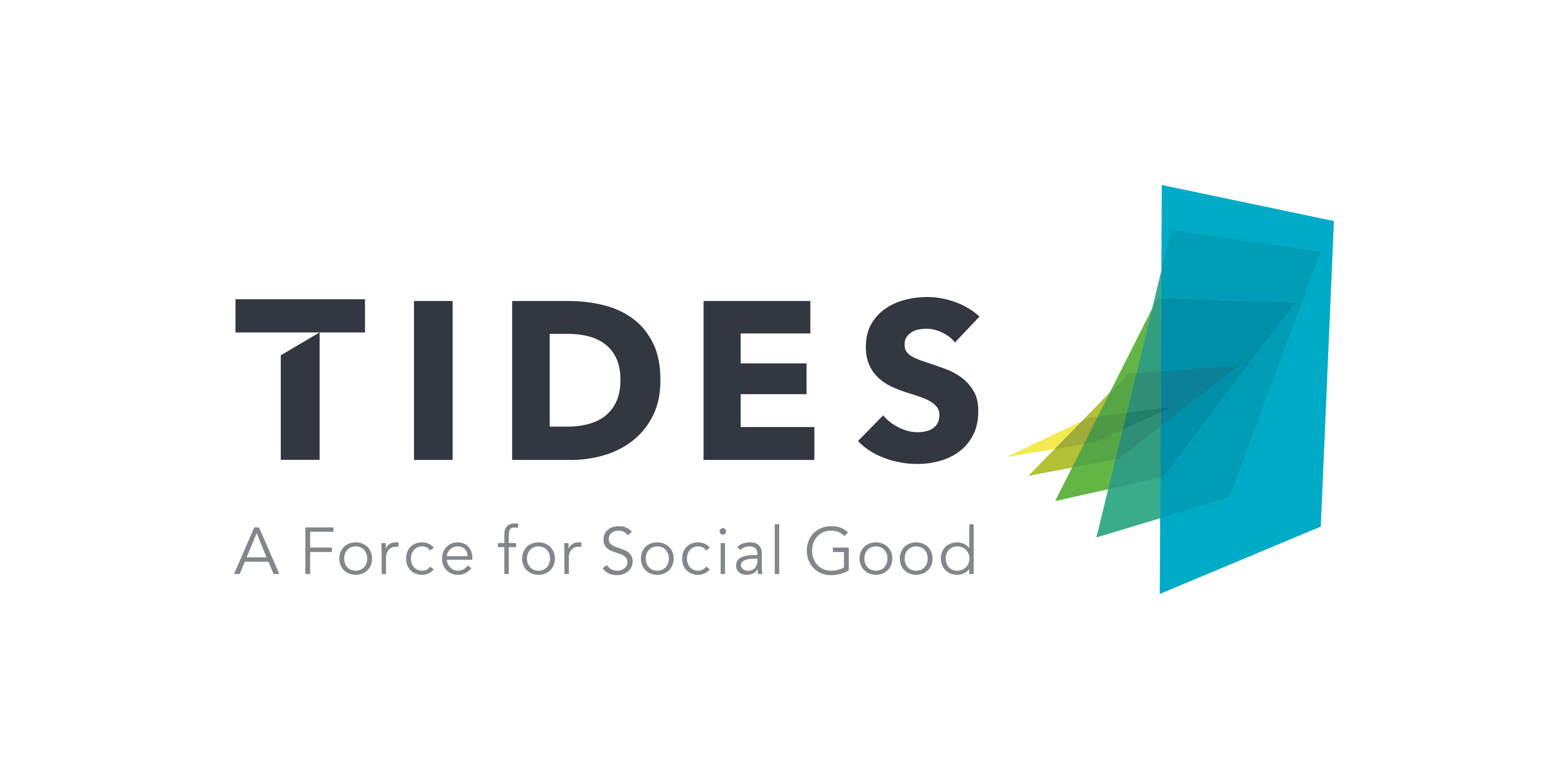 Tides logo, a force for Social Good, Get Us PPE partner