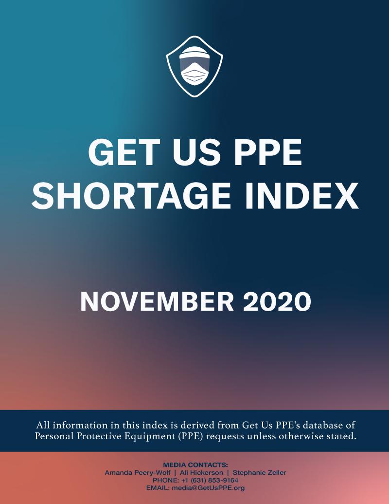 Consíguenos Índice de escasez de PPE Noviembre de 2020 Portada en PDF
