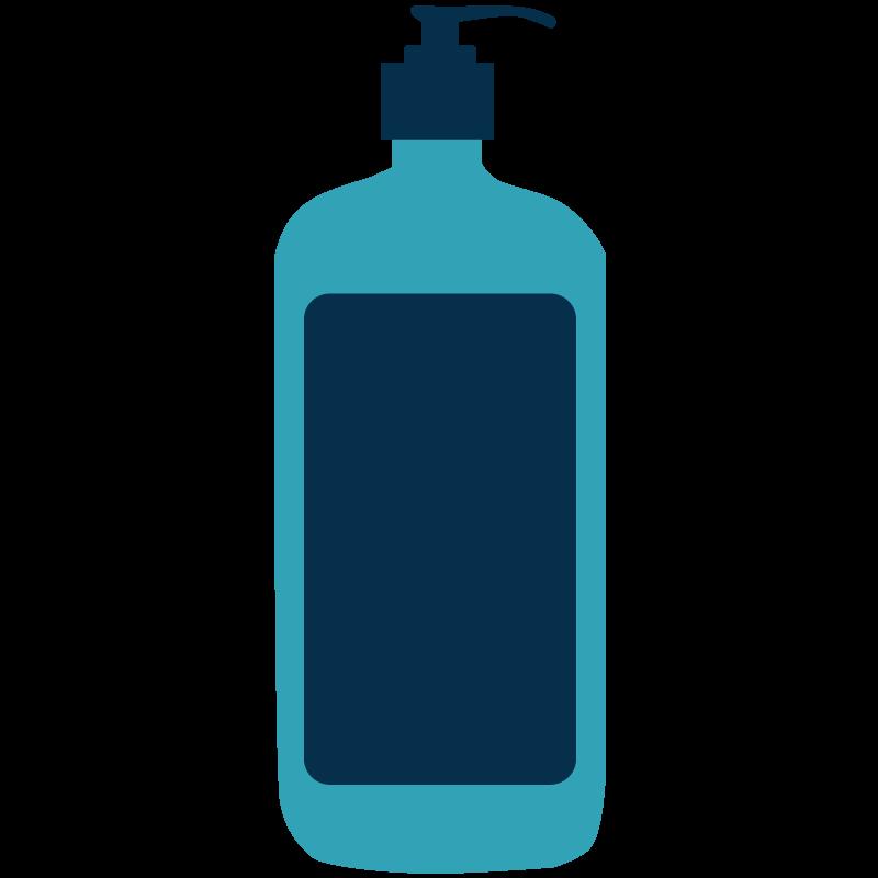 hand sanitizer illustration Get Us PPE