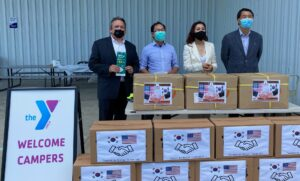Congressman Kim donates PPE