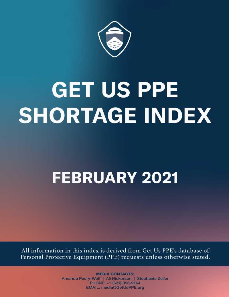 Consíguenos Índice de escasez de EPP febrero de 2021 Portada en PDF