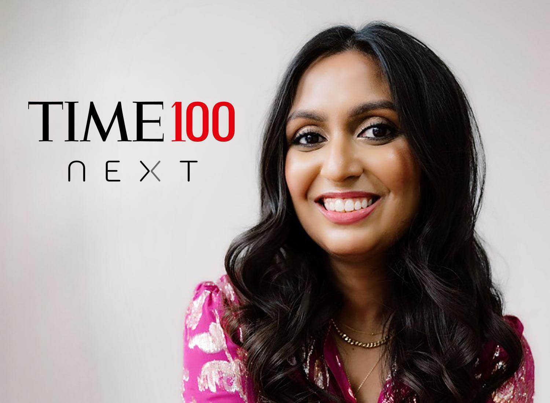 TIME100 Next homenajeada Shikha Gupta, directora ejecutiva de Get Us PPE
