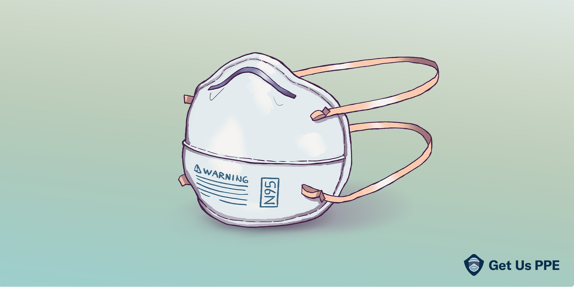 N95 mask illustration re supply-demand disconnect